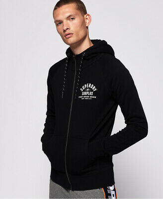 Superdry Mens Surplus Goods Zip Hoodie
