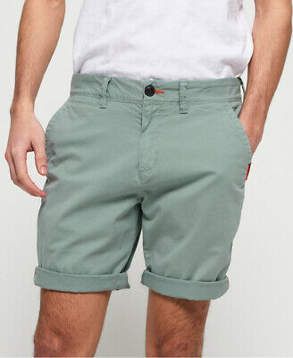Superdry Mens International Slim Chino Lite Shorts