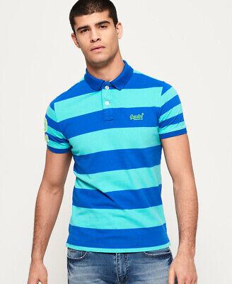 Superdry Louder Stripe Short Sleeve Polo Shirt