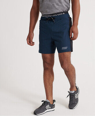 Superdry Mens Active Double Layer Shorts