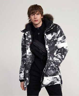 Superdry Mens Sd Explorer Parka Jacket