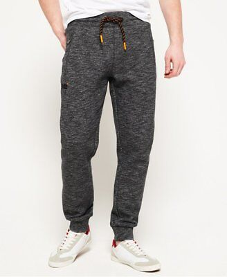 NWT Superdry Men's Orange Label Slim Jogger Sweatpants Flint charcoal XS-2XL