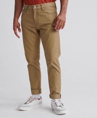 Superdry Mens Edit Tyler Slim Twills Trousers
