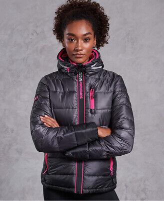 Superdry Womens Polar Power Fade Puffer Jacket