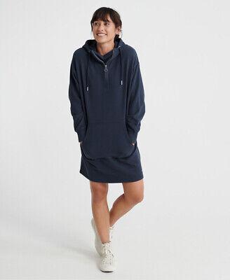 Superdry Zip Front Sweat Dress