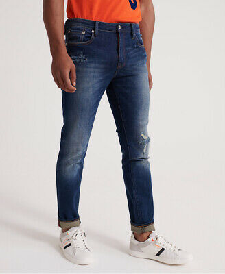 Superdry Mens Tyler Slim Jeans