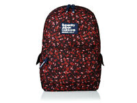 Superdry Scatter Ditsy Montana Rucksack Berry