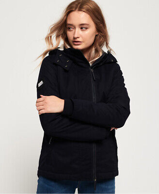 Superdry Womens Boxy Snorkle Hooded Sd-Windparka Jacket