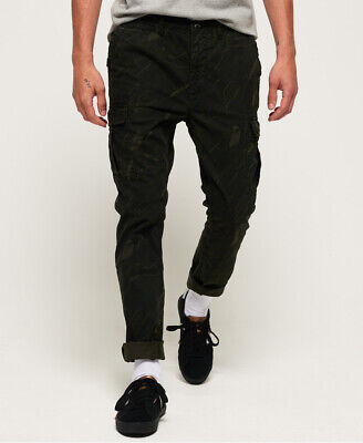 Superdry Mens Surplus Cargo Trousers