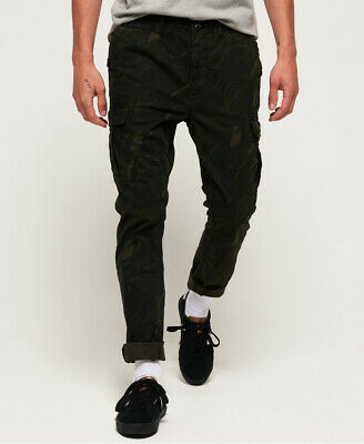 Superdry Mens Surplus Cargo Trousers
