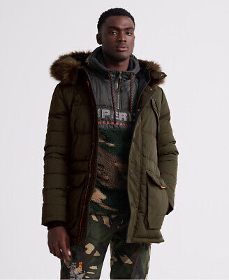 Superdry Mens Chinook Parka Jacket