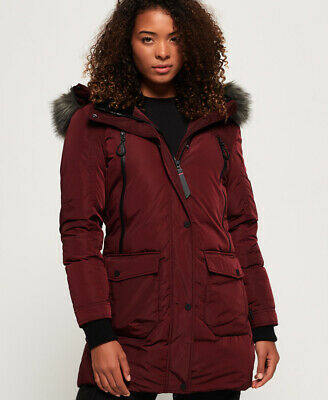 Superdry Womens Antarctic Explorer Down Parka Jacket