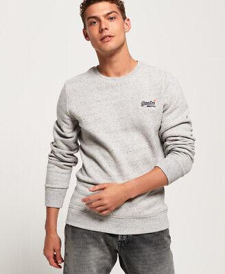 Superdry Mens Orange Label Crew Sweatshirt
