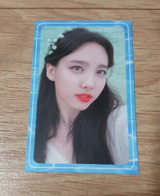 Twice 2nd Special Album Summer Night Nayeon B Photo Card official