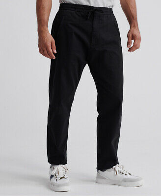 Superdry Mens Edit Taper Drawstring Pants