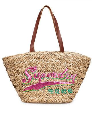 Superdry Womens Anya Straw Tote Bag