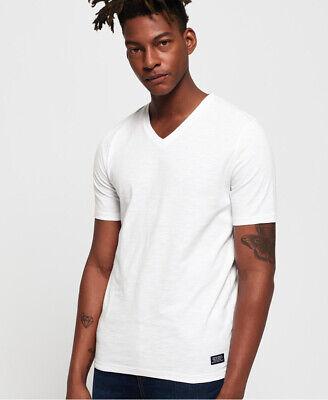 Superdry Mens Dry Originals Short Sleeve Vee T-Shirt