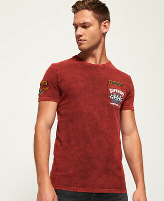 Superdry Custom Denim Stitch Pocket T-Shirt