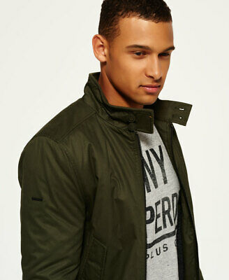 Superdry Mens Winter Longhorn Harrington Jacket