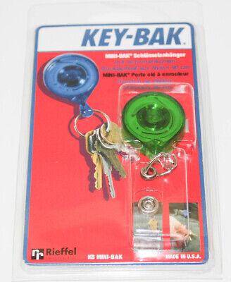 KEY-BAK KB Mbid Llavero Mini Clip Verde Portallaves