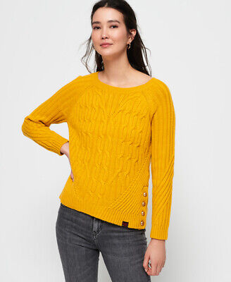 Superdry Womens Hester Cable Knit Jumper