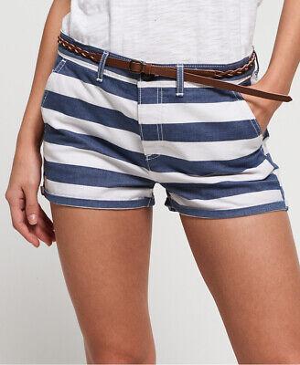Superdry Womens Stripe Chino Shorts
