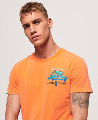 Superdry Mens Limited Icarus Hyper Classics T-Shirt