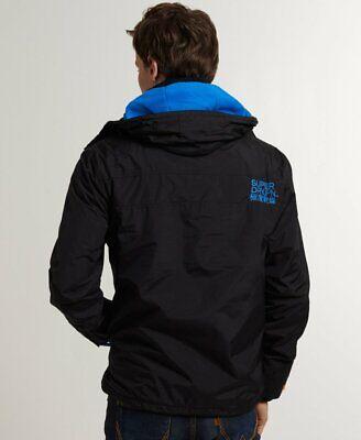SUPERDRY Men's Jacket Arctic Windcheater windbreaker on flees S