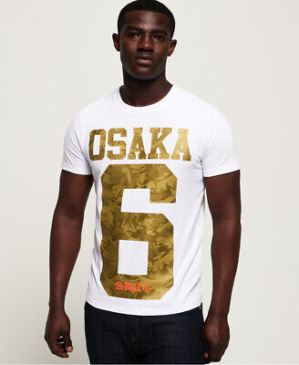Superdry Mens Icon Osaka Camo T-Shirt