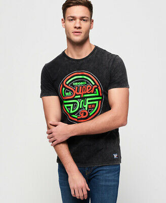 Superdry Mens Acid Graphics T-Shirt