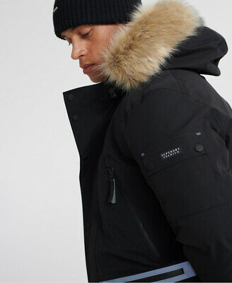 Superdry Mens Waterproof Premium Ultimate Down Parka