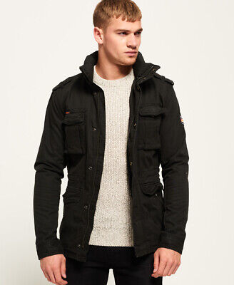 Superdry Mens Rookie Heavy Weather Field Jacket