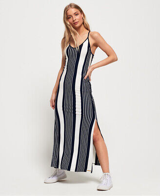 Superdry Azur Stripe Maxi Dress