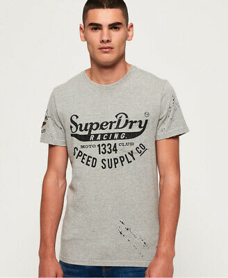 Superdry Mens Customs 3Rd Street Pocket T-Shirt