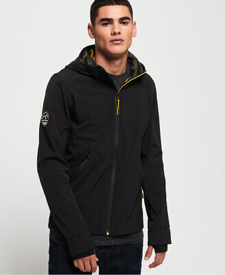 Superdry Mens Mountain Softshell Zip Hoodie