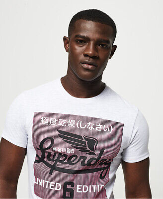 Superdry Mens Super Illusion T-Shirt