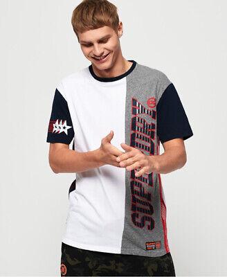 Superdry Mens Podium Mid Weight T-Shirt