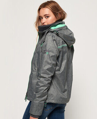 Superdry Womens Arctic Hooded Pop Zip Sd-Windcheater Jacket
