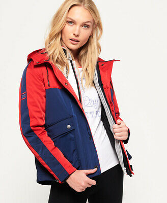 Superdry Womens Adriatic Short Parka Jacket