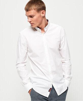 Superdry Mens International Poplin Long Sleeve Shirt