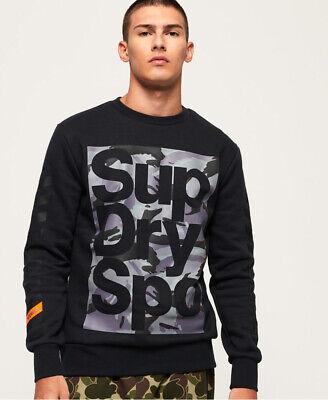 Superdry Mens Combat Boxer Crew Sweatshirt
