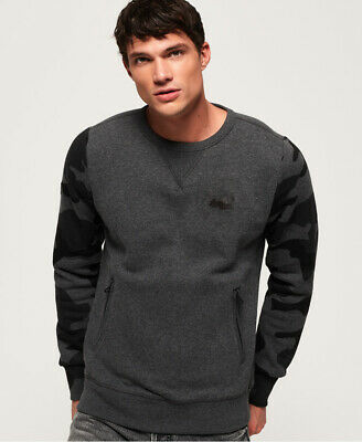 Superdry Mens Orange Label Urban Sweatshirt