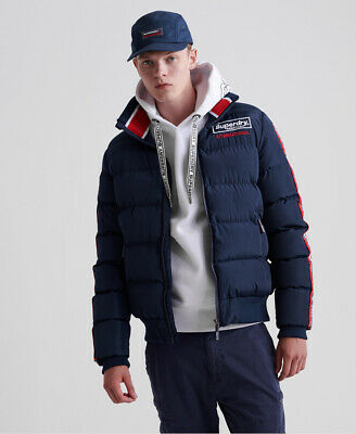 Superdry Mens Icon Sports Puffer Jacket