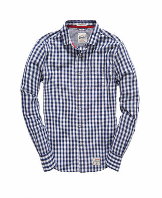 Superdry Mens Laundered Collar Shirt