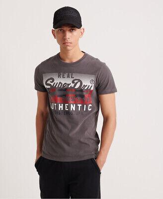 Superdry Mens Vintage Authentic Check T-Shirt
