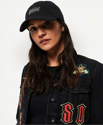 Superdry Womens Orange Label Pique Cap