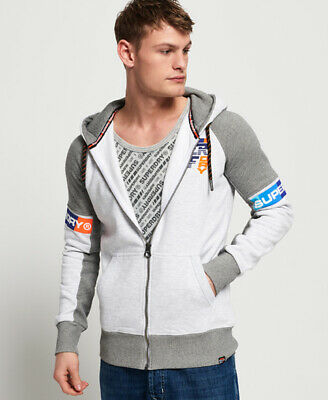 Superdry Mens Super Surf Zip Hoodie