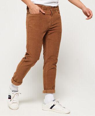 Superdry Mens Slim Tyler Cord Five Pocket Trousers