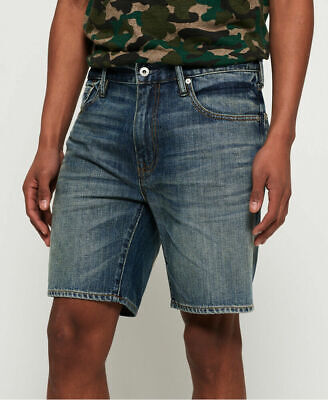 New Mens Superdry Mens Conor Taper Shorts Byrom Mid Vintage