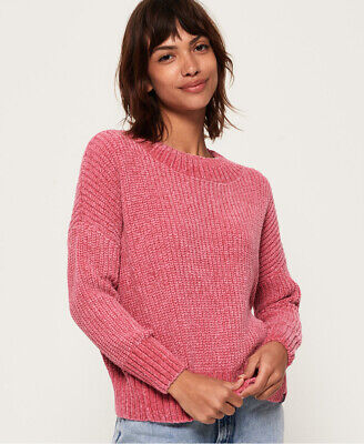 Superdry Womens Suzi Supersoft Slouchy Knitted Jumper